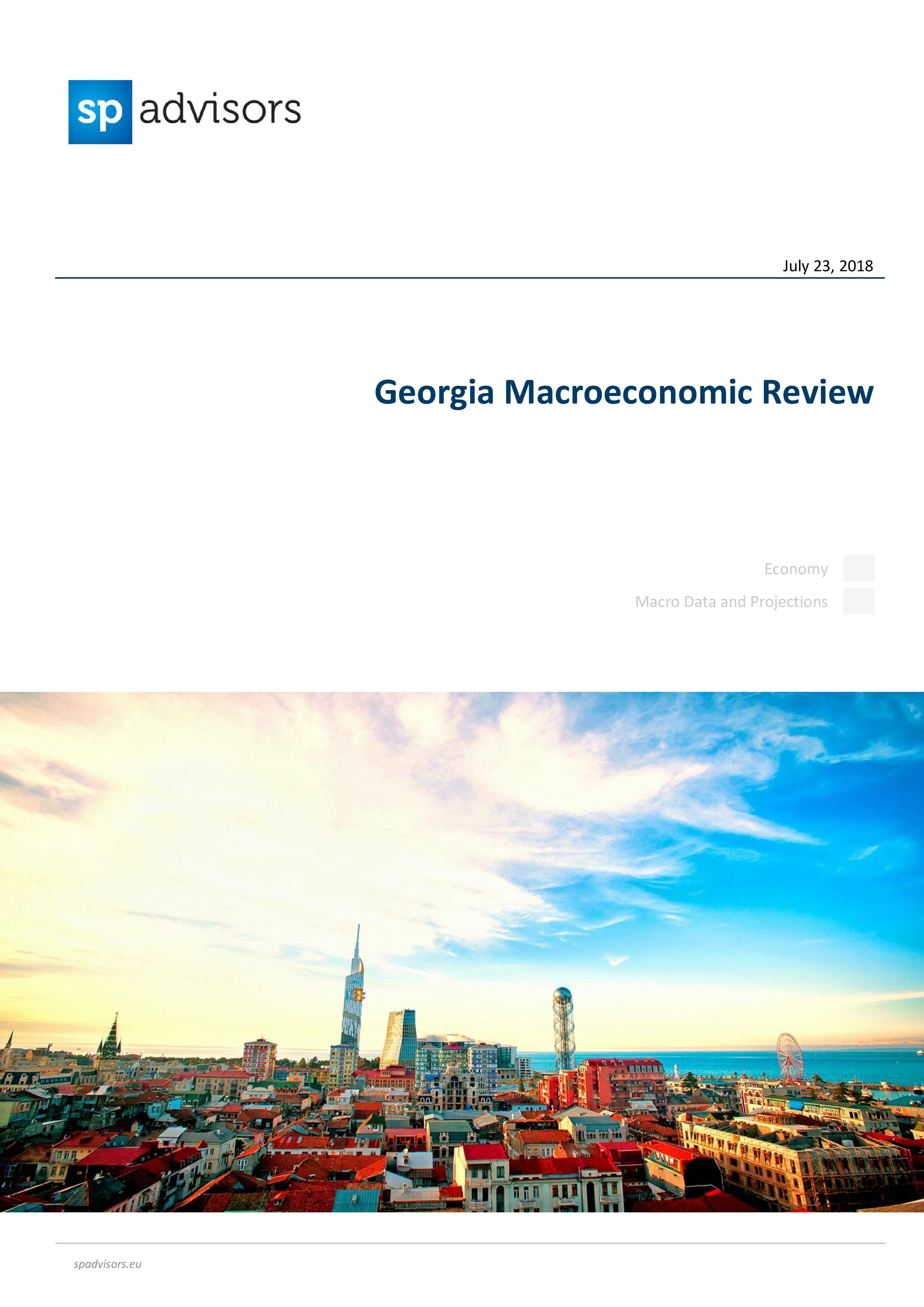 Огляд економіки Грузії. 23 липня 2018 року