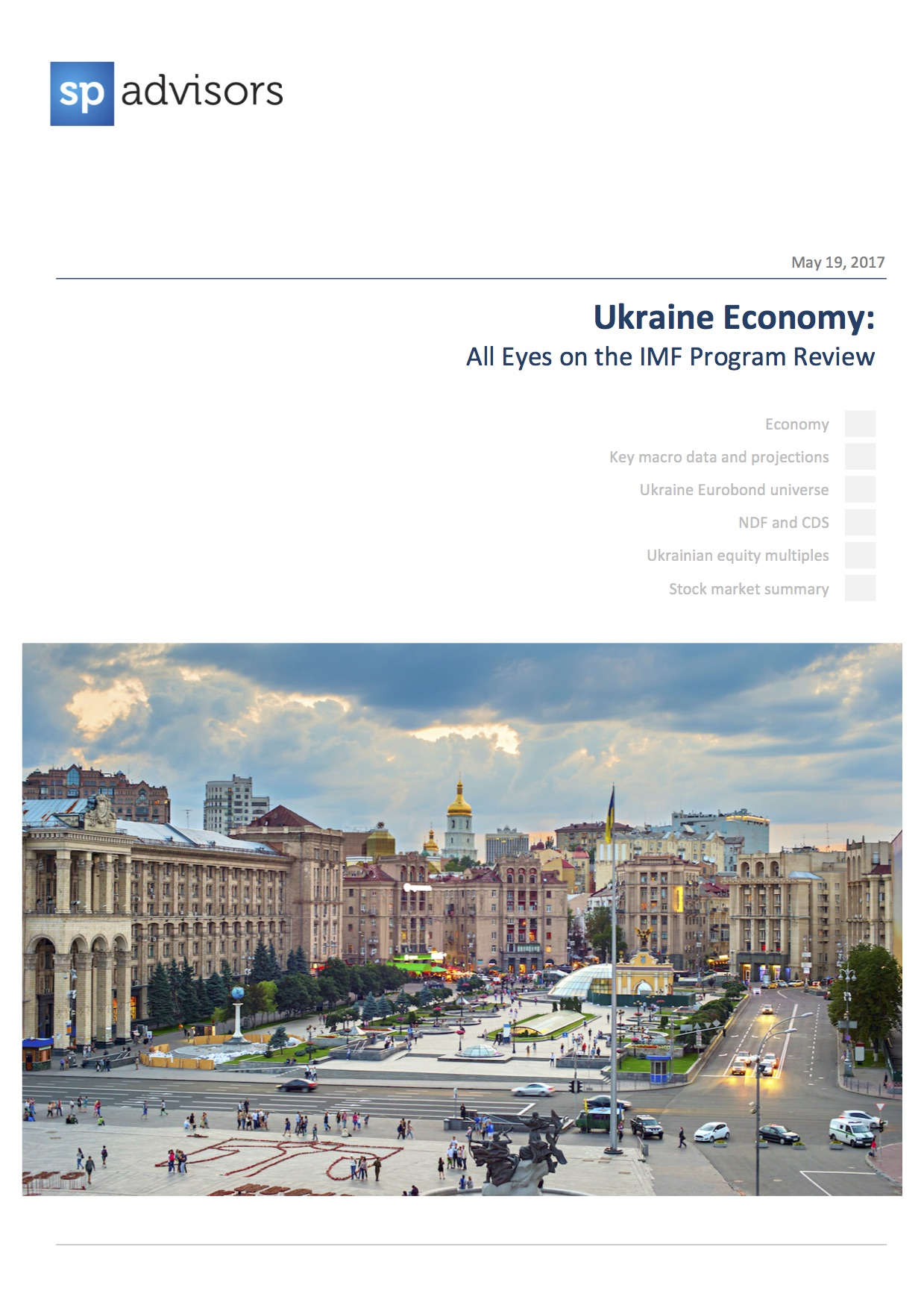 Ukraine Economy: All Eyes on the IMF Program Review. May 19, 2017