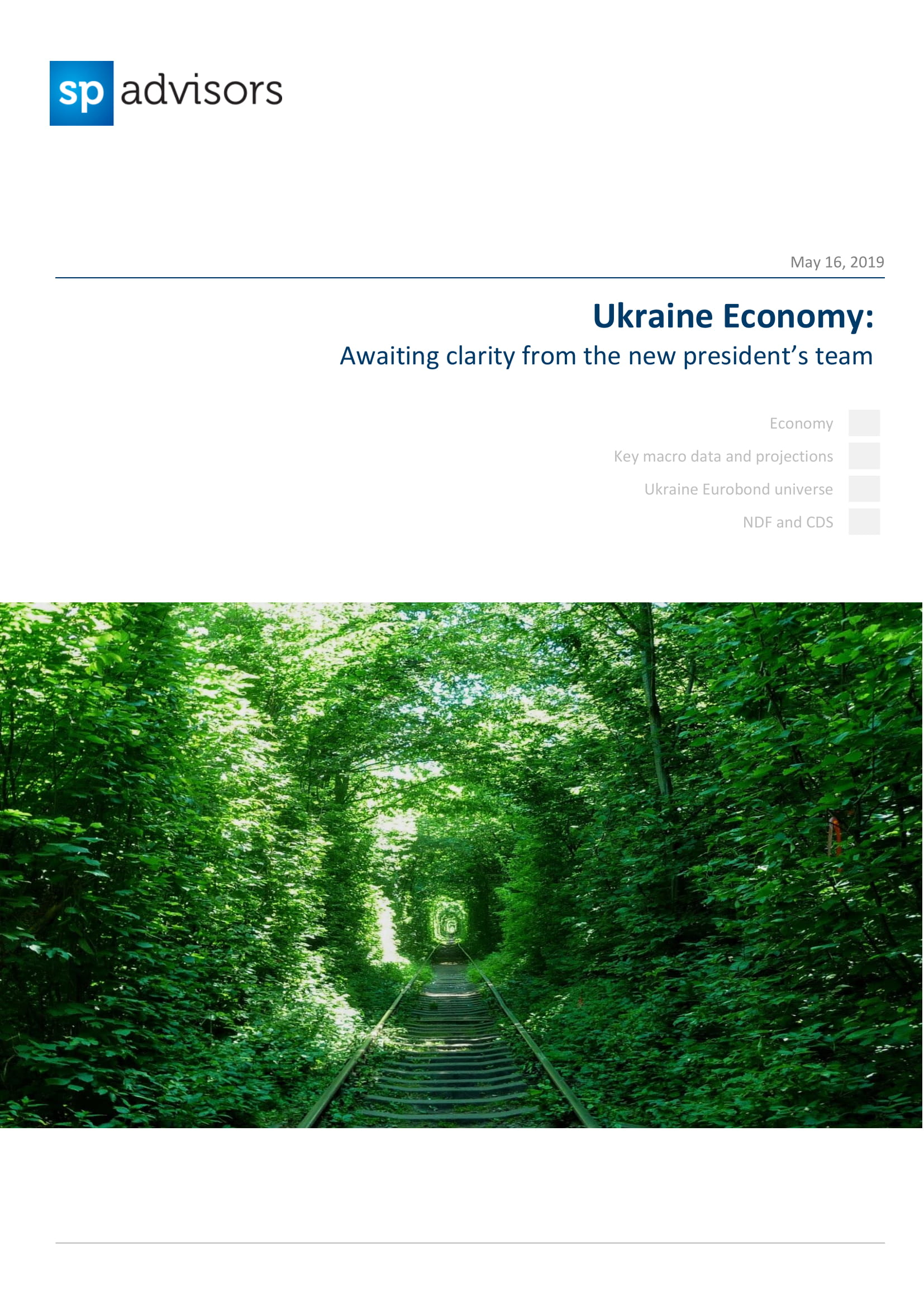 Ukraine Economy: Awaiting clarity from the new president's team