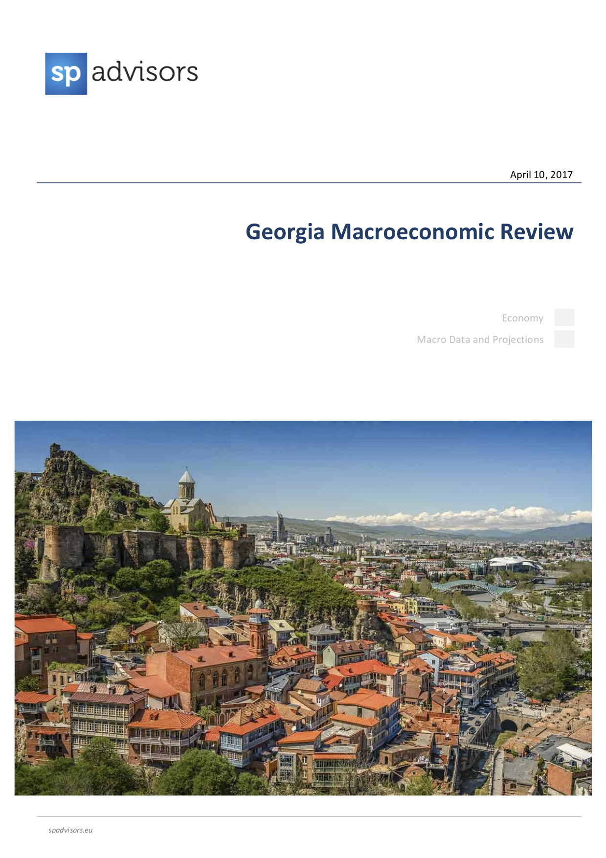 Georgia Macroeconomic Review. April 10, 2017